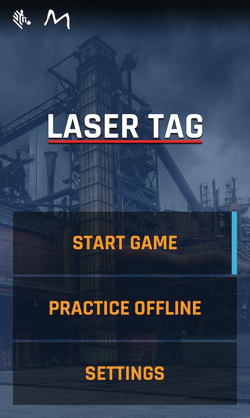 Laser tag app