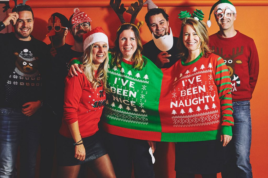 Christmas sweater parties Ugly